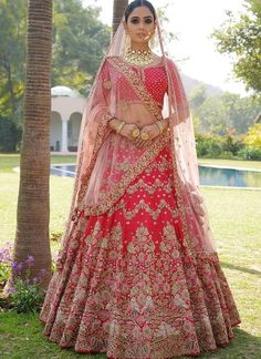 Looking for Bridal Lehenga for your wedding ? Dulhaniyaa curated the list of Best Bridal Wear Store with variety of Bridal Lehenga with their prices Indian Lehenga, Red Lehenga, Party Wear Lehenga, Anarkali, Pakistani, Indian Bridal Outfits, Indian Bridal Fashion, Indian Bridal Wear, Indian Dresses