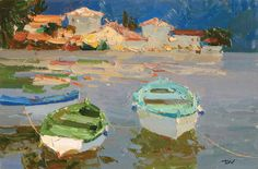 Click here for Select Sold Works: Daniil Volkov - Boats