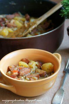 Polish Recipes, Cheeseburger Chowder, Meat, Chicken, Soups, Blog, Polish Food Recipes, Soup