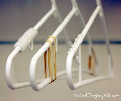 No-Slip Hangers - 3 Different Solutions! - One Good Thing by JilleePinterestFacebookPinterestFacebookPrintFriendly