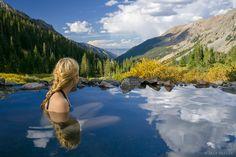 Colorado,Conundrum Hot Springs,Elk Mountains, Aspen