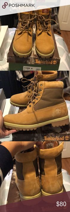 Timberland men 6 prem oilfield Smth size 11 Size 11 men's 6 prem oiled Brn smth sytle 11066M is Used 1 time you can see the pictures please any question thank you Timberland Shoes Boots