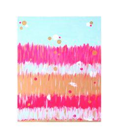 "Design Darling home decor & monogrammed gifts — Anne Harwell McElhaney ""Fluoro Fringe"""