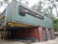 Reused Sea Container House - Construction21