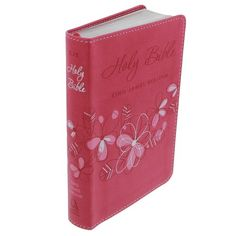 Holy Bible: KJV Pocket Edition: Pink - http://christianworldviewbooks.net/holy-bible-kjv-pocket-edition-pink/