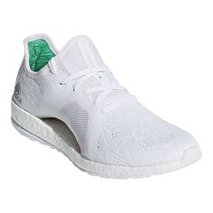 huge selection of 3066d b175d adidas Women s Pure Boost X Element Running Shoes - White Grey Green