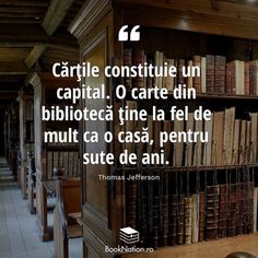 Citatul de astăzi  #citateputernice #citate #carti #cititoridinromania #noicitim #cartestagram #books #bookstagram #cititulnuingrasa #romania Thomas Jefferson, Books, Literatura, Libros, Book, Book Illustrations, Libri