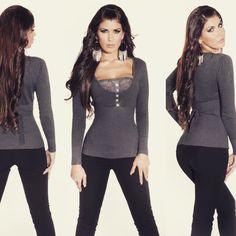Endast 99kr. Fri frakt😜 Blouse, Long Sleeve, Sleeves, Shopping, Fashion, Fashion Styles, Moda, Long Dress Patterns, Blouses