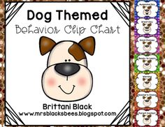 This behavior clip chart is dog themed and is designed to encourage positive behavior and discourage negative behavior.  Simply print, laminate, and hang in your classroom.  Download the preview to see more.