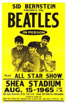 The Beatles at Shea Stadium John Lennon Paul McCartney George Harrison Ringo Star Beatles Poster Beatles Posters 11 x 17 poster Beatles Poster, Beatles Party, Beatles Photos, Rock Vintage, Vintage Music, Vintage Style, Rock And Roll, Rock Posters, Rock Music