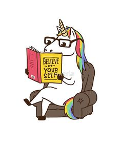 Unicorn Believe in Yourself Magical Fabulous
