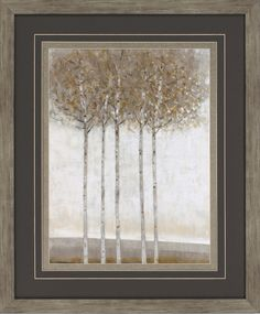 Early Fall II Framed Painting Print