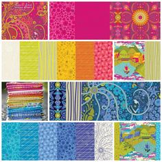 Alison Glass - Diving Board Fabric Collection