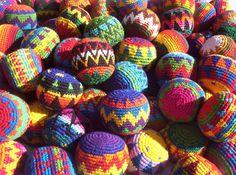 Tapestry Crochet Hacky Sack Pattern