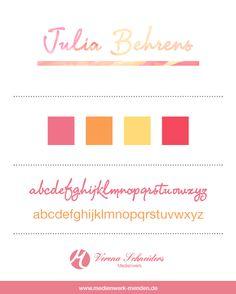 [Projekt] Briefbogen & Visitenkarte - Julia Behrens -
