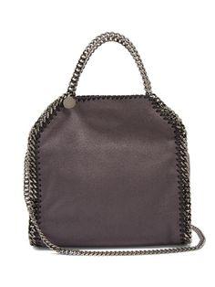 Stella McCartney Falabella mini faux-suede cross-body bag Chain Shoulder Bag a9d2dd1ea79ea