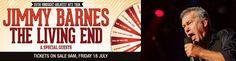 Jimmy Barnes, The Living End & Special Guests. 30/30 hindsight greatest hits tour. Date: Saturday, 8 November 2014 (3pm). Venue: Bimbadgen Winery, 790 McDonalds Road, Pokolbin NSW 2325, Australia