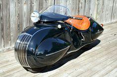 1936 Henderson - Wha' Da Fuq?? How does the front wheel turn?