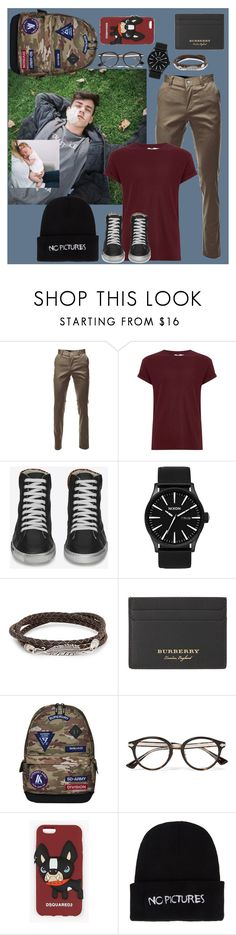"""""""OORN"""" by dead-dandelion-girl ❤ liked on Polyvore featuring Topman, Yves Saint Laurent, Nixon, Simon Carter, Burberry, Superdry, Gucci, Dsquared2, Nasaseasons and men's fashion"""