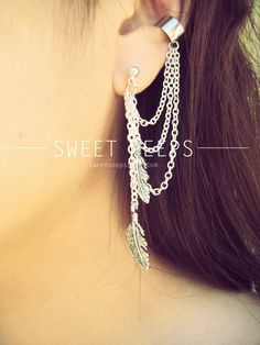 Earring Cuff & Dangle