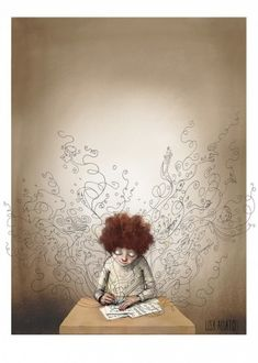 Søk | Lisa Aisato - salg Children's Book Illustration, Love Art, Drawing S, Art Sketches, Fairy Tales, Fantasy, Prints, Pictures, Painting