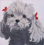 DOGS Plastic Canvas, Hand Embroidery, Teddy Bear, Dogs, Animals, Ebay, Animais, Animales, Animaux