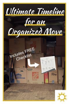 Moving can be a daunting task, but if you stay organized and plan ahead, you can do it with little to no issues. Download your FREE guide.