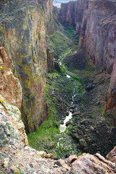 1000 Creek Gorge, by Glen Miller