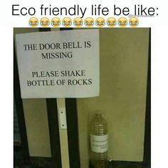 """Back in the days this was """"ghetto"""" NOW... it's #ecofriendly"""
