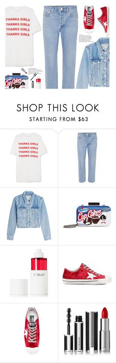 """""""Thank You"""" by hollowpoint-smile ❤ liked on Polyvore featuring STELLA McCARTNEY, Goldsign, Off-White, 10 Crosby Derek Lam, Golden Goose and Givenchy"""