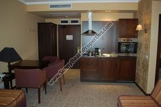 Park view 1-bedroom apartment for sale in 5***** Royal Beach Barcelo apart-hotel downtown Sunny beach, 50. m. from the beach - Sunnybeach Properties - Real Estates in Bulgaria. Apartments, Villas, Houses, Land in Sunny Beach, Nesebar, Ravda ...