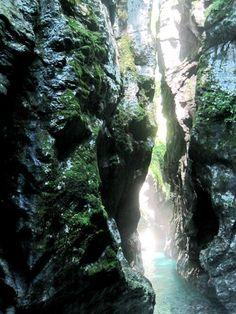 Tolmin kloof wandeling in Nationaal Park Triglav; bron Mijn Slovenie