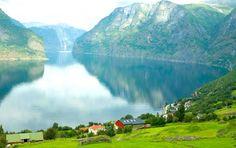 Norway fjords.  #Norway