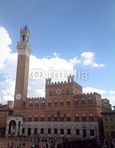 Palazzo pubblico in piazza del Campo, Siena.