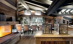 """Completed in summer 2010, Chalet le Petit Chateau is one of the most fantastic """"ski in, ski out"""" chalets in Courchevel, one of the most popular ski resorts in the French Alps. The chalet has one of the best locations, not just for skiing, but also only a 5 minutes walk from the center of Courchevel 1850. Le Petit Chateau boasts 7 ensuite bedrooms, sleeping 14 including two master bedroom suites, an indoor pool, massage room and Hammam-style steam room. No expense has been spared with the…"""