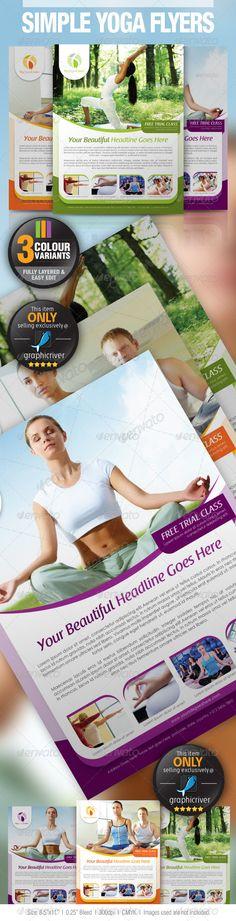 Yoga Flyer Yoga, Event flyers and Yoga logo - yoga flyer