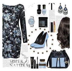 """Supernatural"" by cassy-style ❤ liked on Polyvore featuring LARA, 1928, GUESS, Deborah Lippmann, Tommy Bahama, Bobbi Brown Cosmetics, Michael Kors, NARS Cosmetics, Chanel and Givenchy"