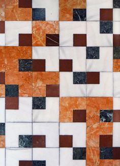 Carlo Scarpa à la Fondation Querini Stampalia (Venise) Carlo Scarpa, Floor Patterns, Tile Patterns, Textures Patterns, Floor Design, Tile Design, Pattern Design, Detail Architecture, Interior Architecture