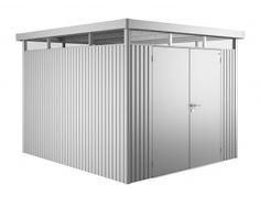 Biohort Heavy Duty Metal Shed Highline H5 Double Doors