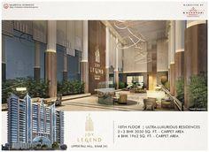 Joy Legend  Upper Pali Hill, Khar (W)  -Ultra Luxurious Residences -3 + 3 BHK - 3030 Sq.Ft Carpet area -4 BHK - 1962 Sq.Ft Carpet area  #BKandhariproperties #JoyLegend #UpperPali #KharWest #Residential #LuxuryHomes #PremiumProperty #Mumbai Property Sale, Mumbai, Luxury Homes, Carpet, Joy, Flooring, Mansions, House Styles, Home Decor