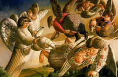 Stanley Spencer - Angels of the Apocalypse