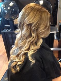Blonde Ombre, the natural tones compliment my natural color.