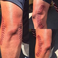 45 Sporty Baseball Tattoo Designs – For The Love Of The Game baseball / world series party! Softball Tattoos, Sport Tattoos, Bike Tattoos, Badass Tattoos, Sleeve Tattoos, Future Tattoos, New Tattoos, Tattoos For Guys, Tatoos