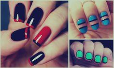 Decoración de uñas sencillas y fáciles, 50 modelos bonitos y elegantes