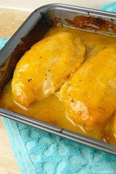 Honing-mosterd kip uit de oven - Lovemyfood.nl