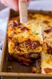 Image result for greek pastitsio