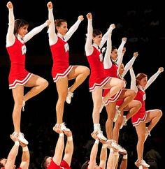 Wisconsin Badgers Cheerleaders #1
