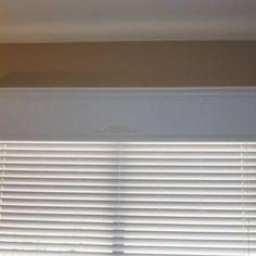 Wood Window Valence DIY { Valances