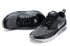 the latest bfbca 2a563 Lacný Nike Air Max Thea Print Gray Silver Black Dámske Topánky a New Nike  Air Max Biela Dámske Hot Predaj