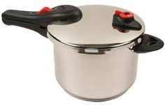 NuWave 6.5-Quart Stainless Steel Presssue Cooker >>> Click image to review more details.